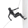 Rodden Climbing Woman Sculpture