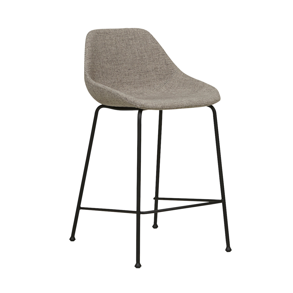 Ronald Bench Barstool | Cloud Grey