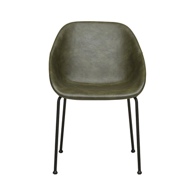 Ronald Dining Chair | Vintage Green