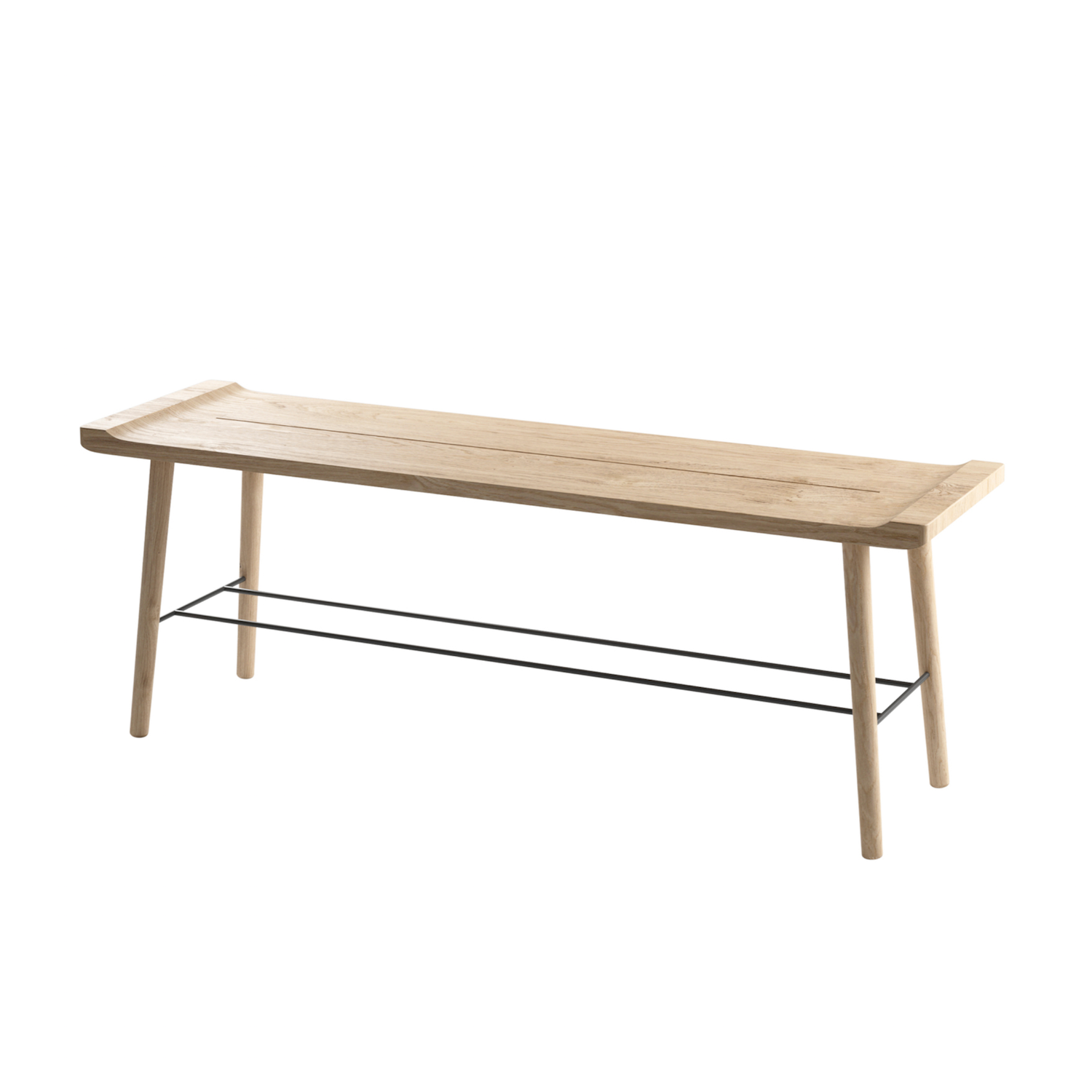 Scala Bench Seat | Natural Oak