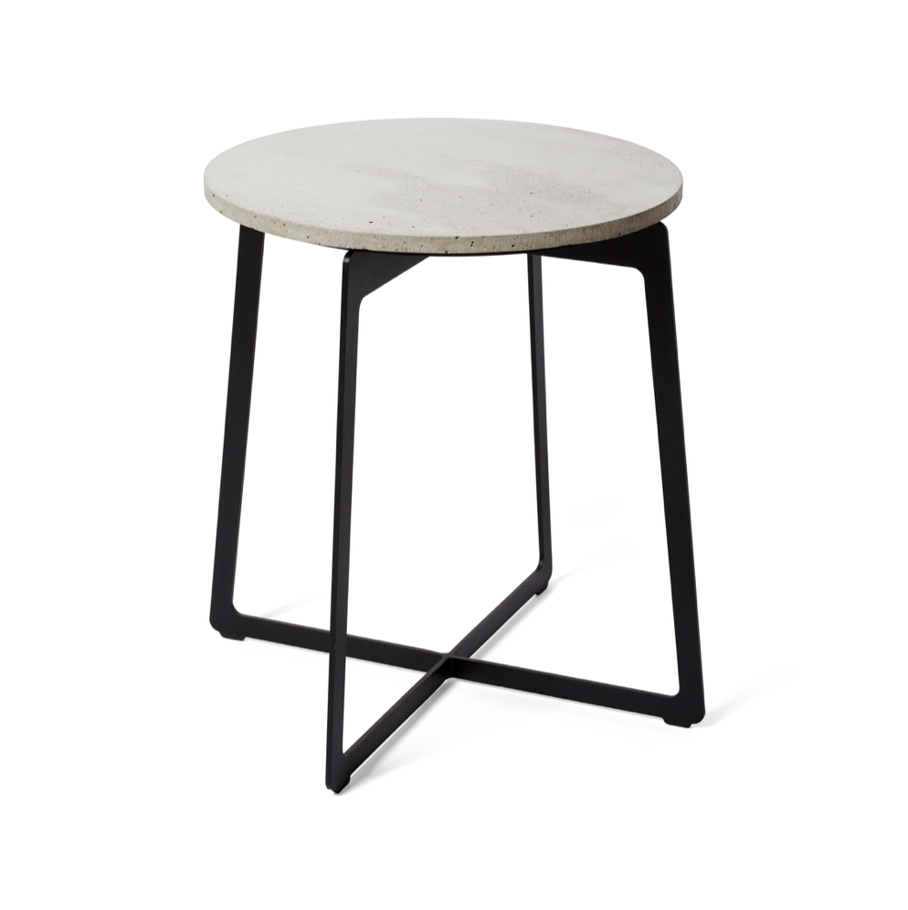 Sera Concrete Side Table