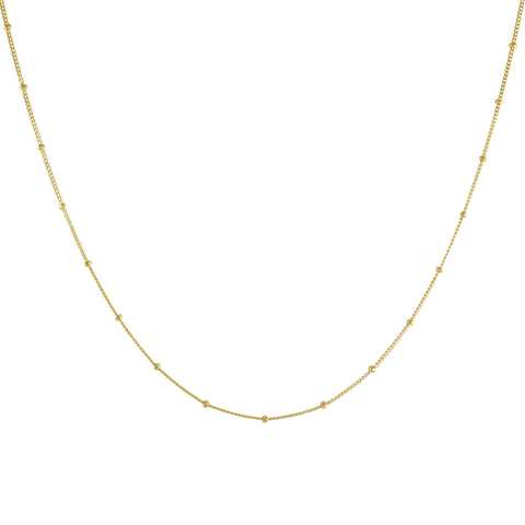 Gold Filled Satellite Chain