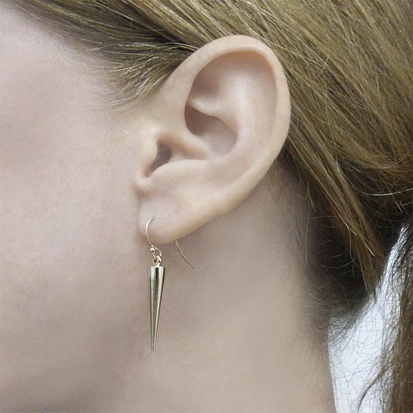 Golden Spike Earrings