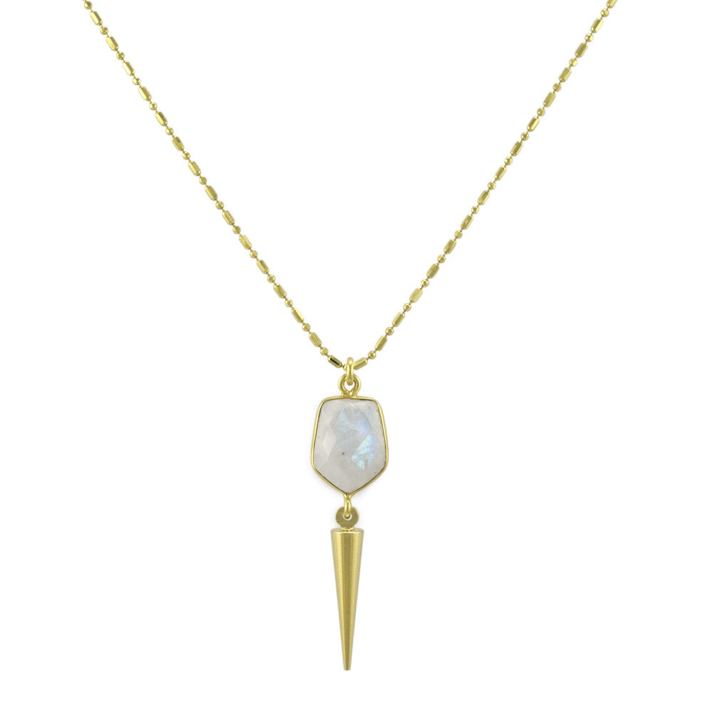 Moonstone Spike Pendant
