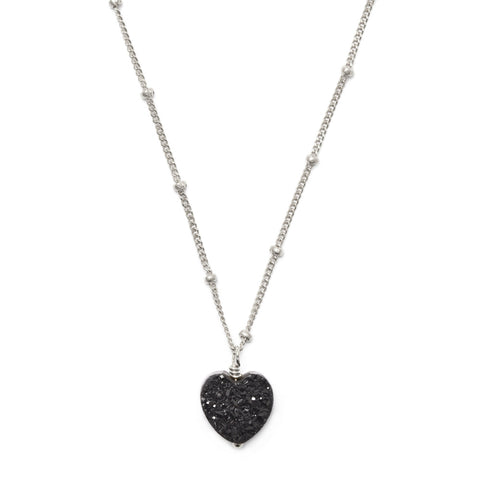 All My Heart Silver Pendant