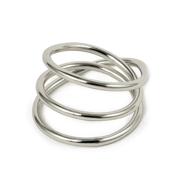 The Silver Wrap Ring