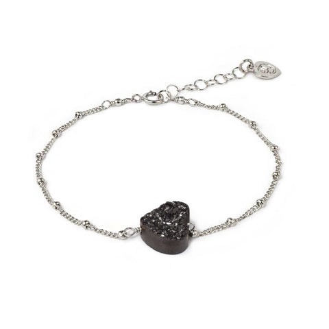 All My Heart Silver Bracelet