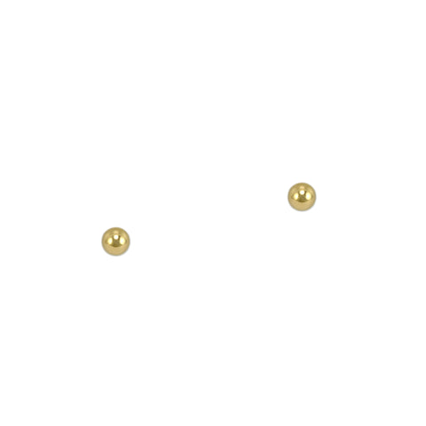 Gold Micro Ball Studs