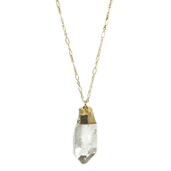 Crystal Power Long Pendant