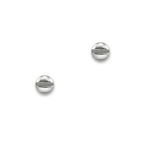 Silver Screw Head Studs