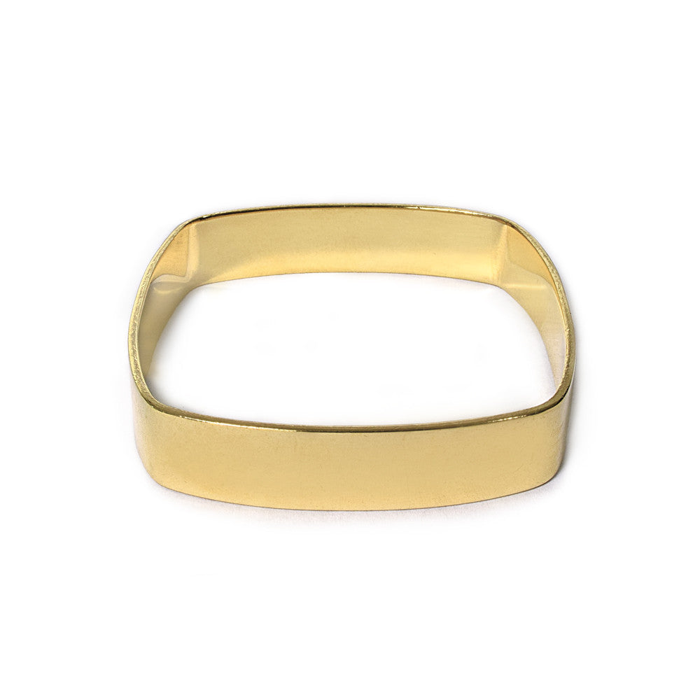 Wide Square Bangle
