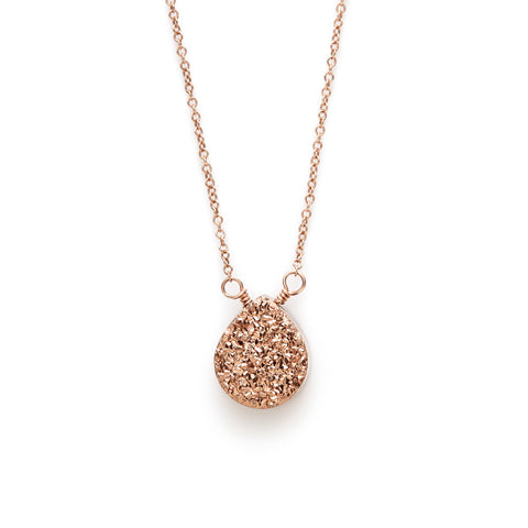 Rose Gold Sparkle Pendant
