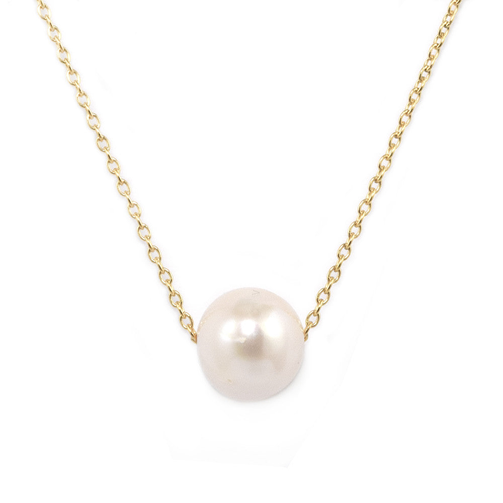 gift freshwater necklace box pearl shop strand vanity