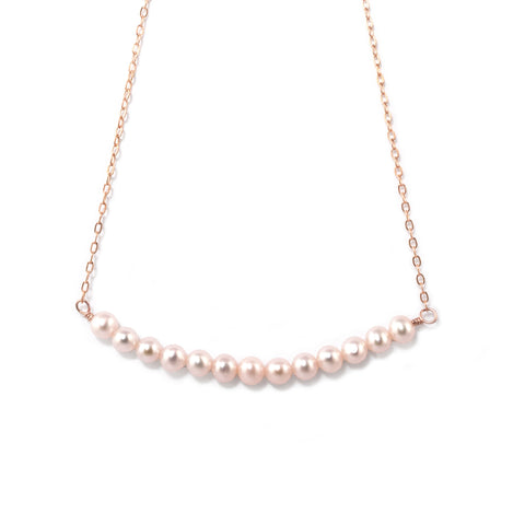Linea Pearl Necklace