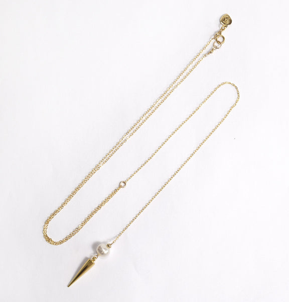 Pearl Spike Y-Neck