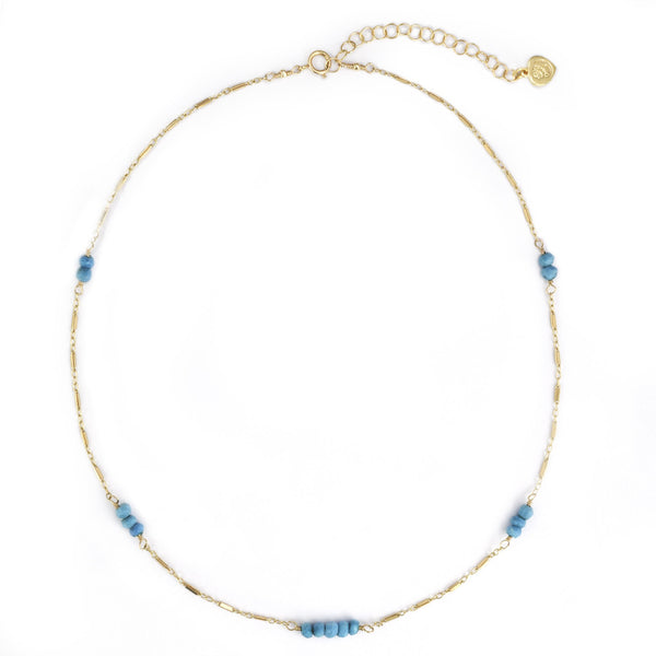Turquoise Dash Necklace