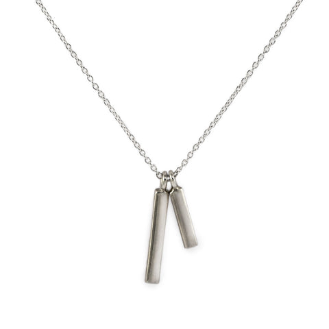 Twin Bar Necklace
