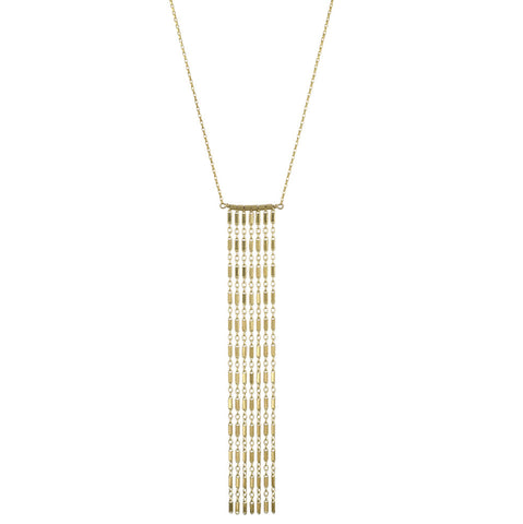Gold Bar None Pendant