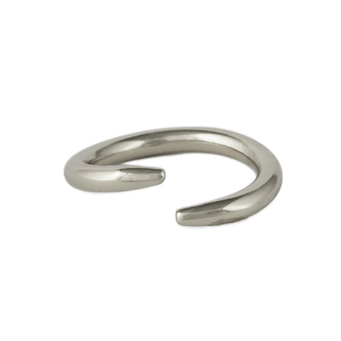 Silver Thorn Ring