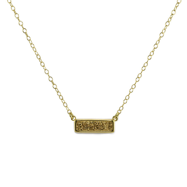 Stardust Bar Necklace
