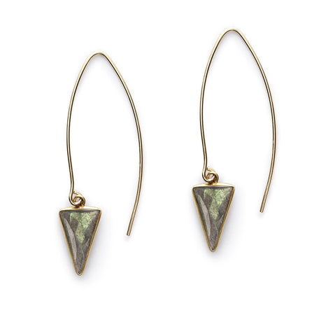 Labradorite Arrowsmith Earrings