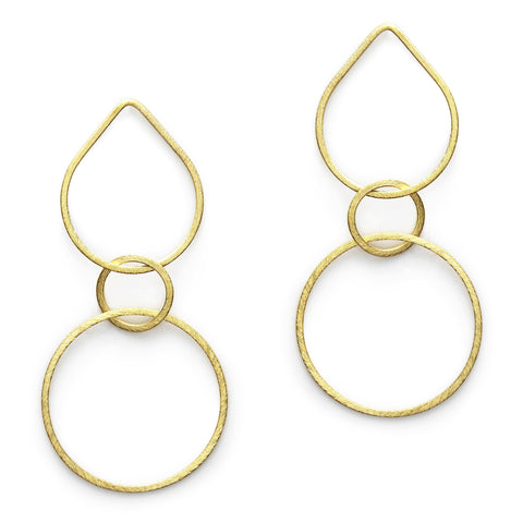 Gold Guinevere Earrings