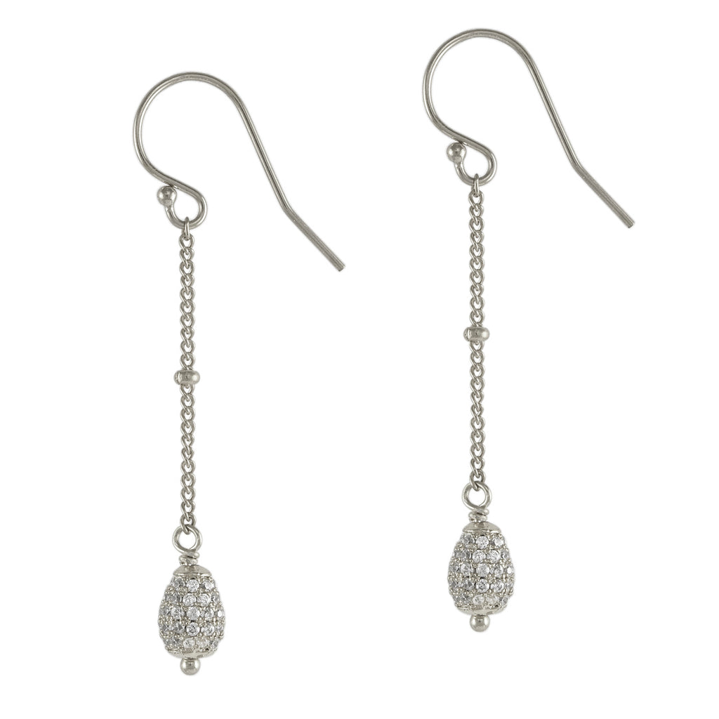 Mini Crystal Drop Earrings