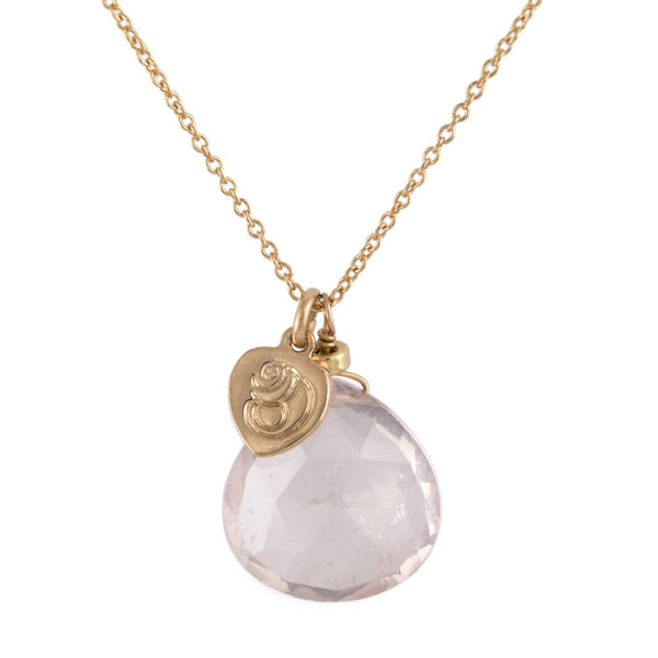 Rose Quartz Zelda Pendant