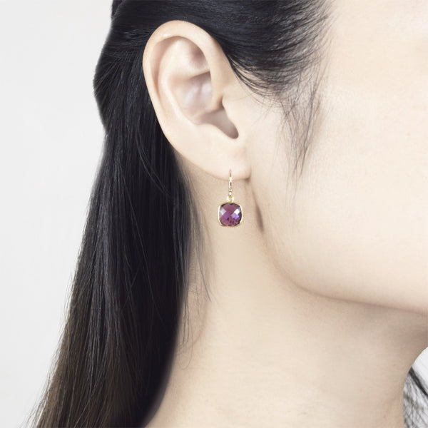 Amethyst Darcy Drop Earrings