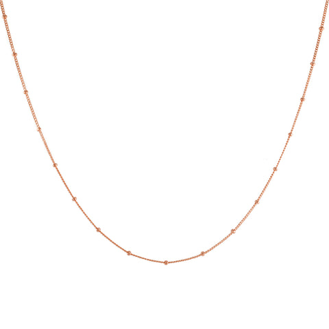Rose Gold Filled Satellite Chain