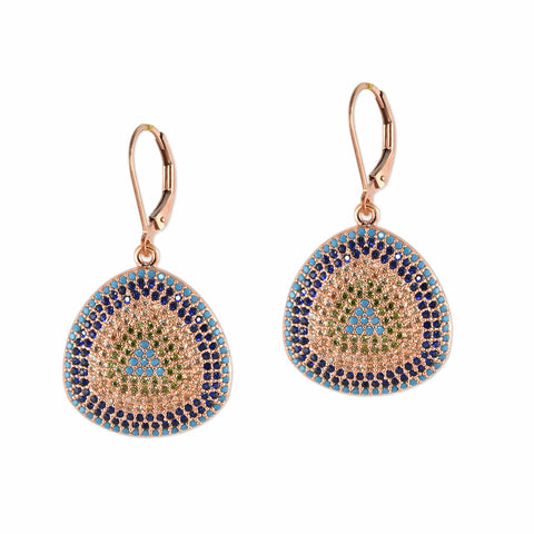 Cushy Pavé Crystal Earrings