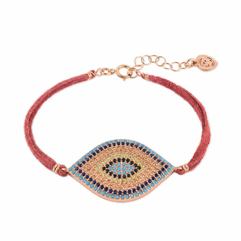 Eye Spy Pavé Crystal Bracelet