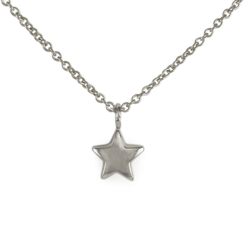 Silver Bright Star Pendant