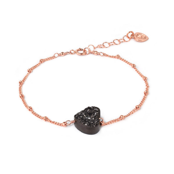 All My Heart Rose Gold Bracelet