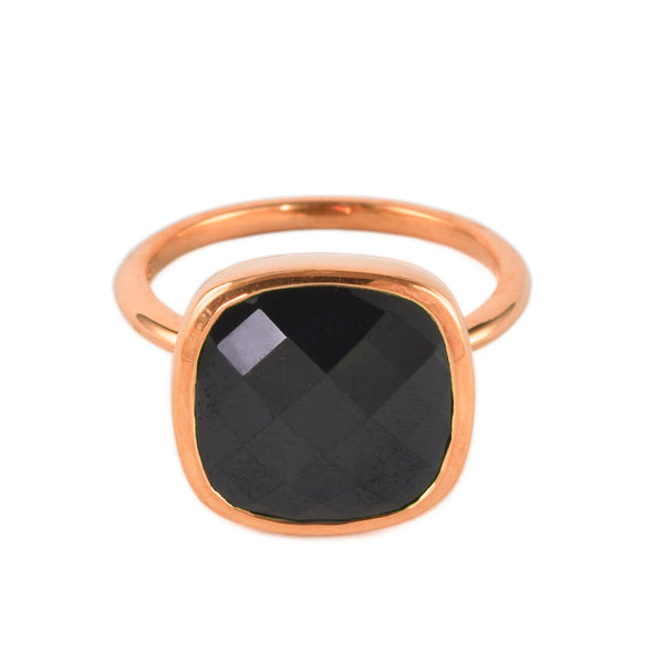 Black Spinel Influence Ring
