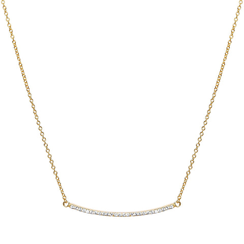 Crystal Linea Necklace