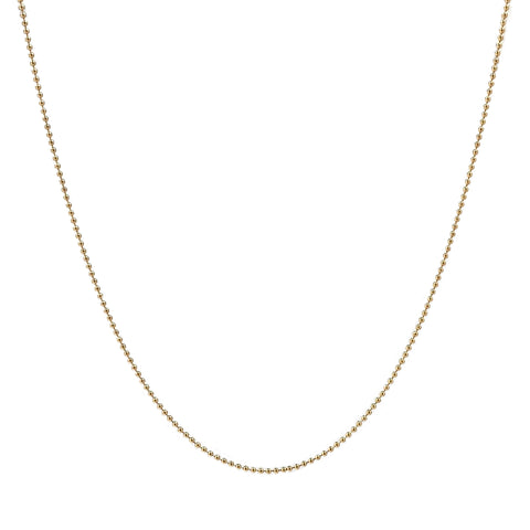 Gold Tiny Bead Chain