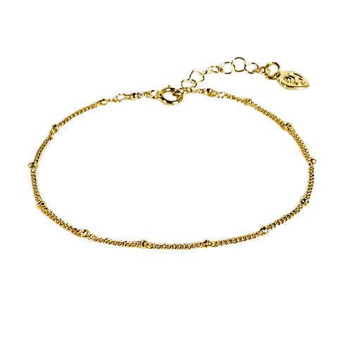 Gold Filled Satellite Anklet