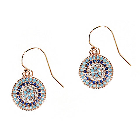 Mini Target Earrings