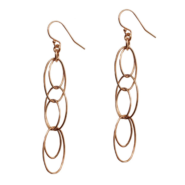 Interlaced Link Earrings