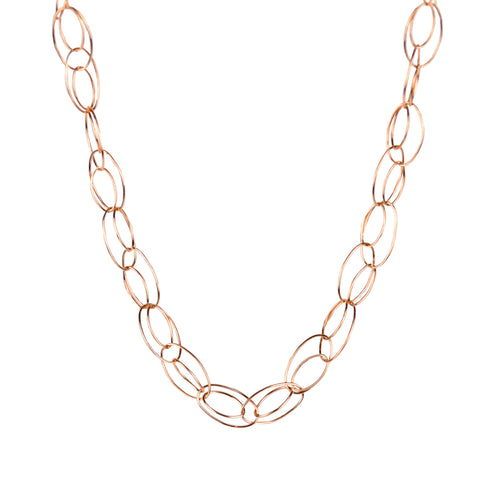 Interlaced Link Necklace
