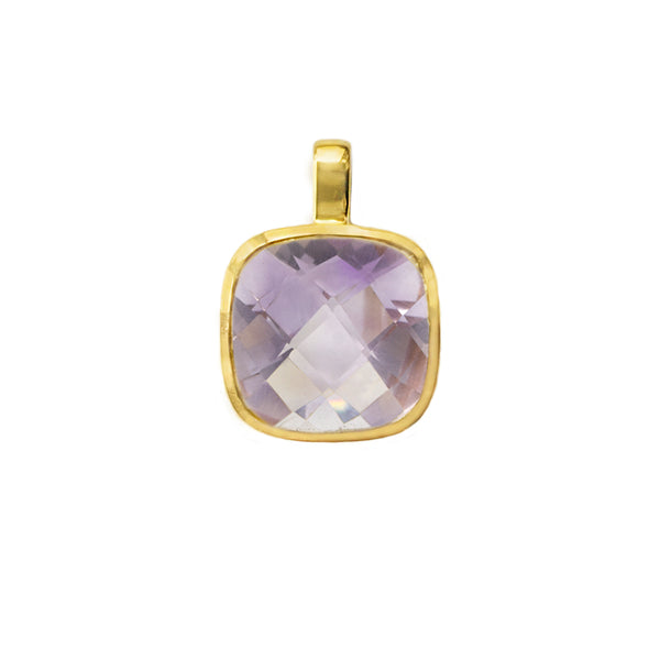 Pink Amethyst Influence Pendant