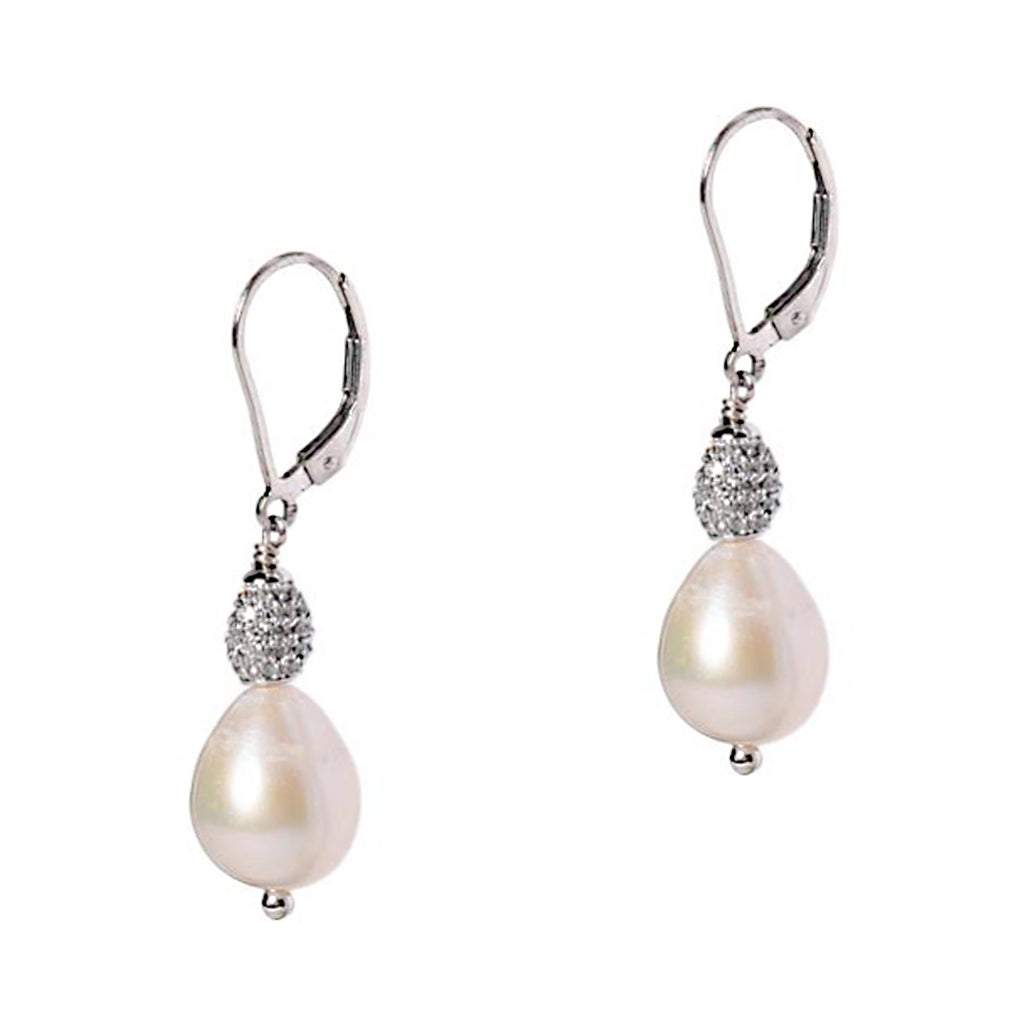 Egg Drop Pearl Earrings