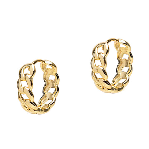 Cuban Link Hoops