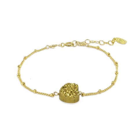 All My Heart Gold Bracelet