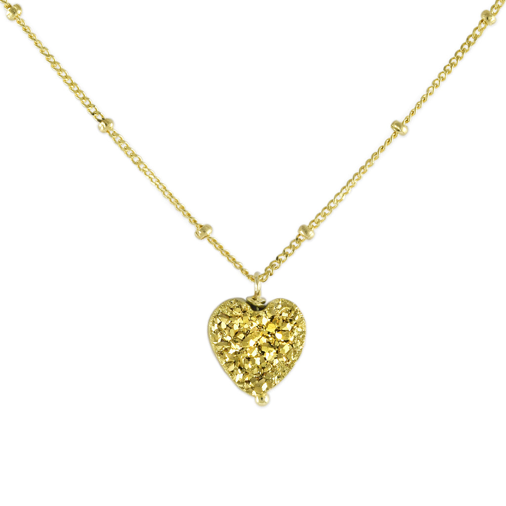 All My Heart Gold Pendant