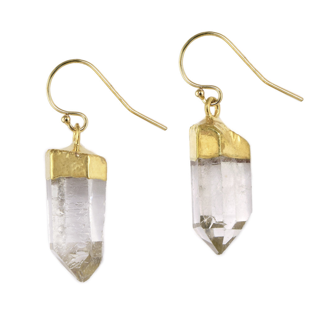 Crystal Power Earrings