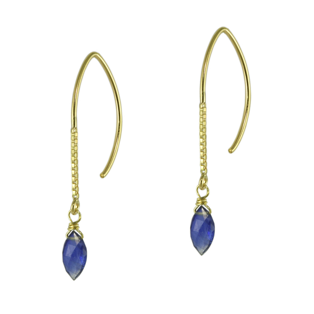 Kyanite Marquise Earrings