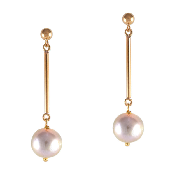 Pearl Disco Earrings