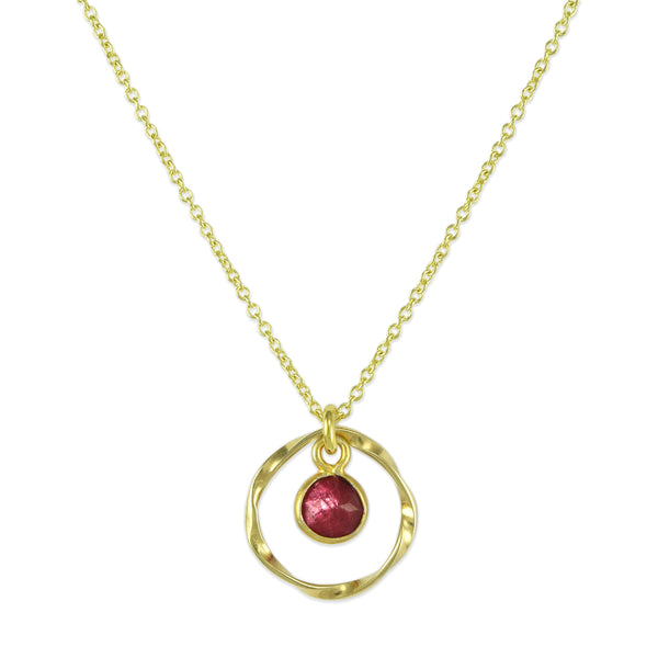 Ruby Orbit Pendant